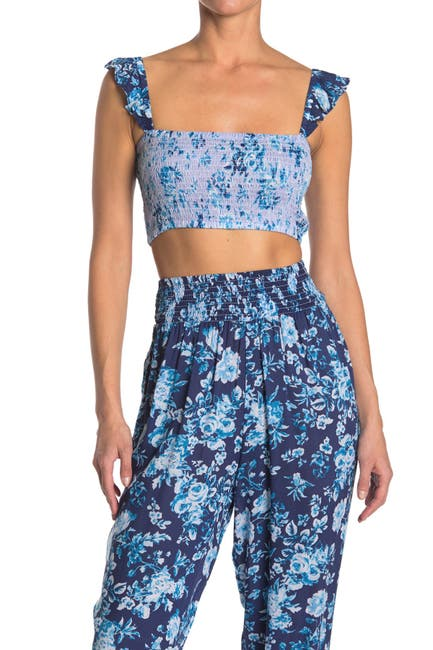 Image of Nanette Lepore Suzie Smocked Top