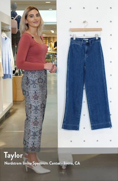 Emmett High Waist Trouser Jeans, sales video thumbnail