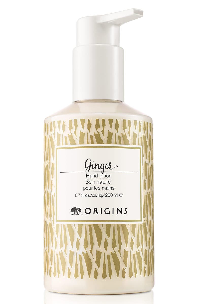 ORIGINS Ginger Hand Lotion, Main, color, NO COLOR