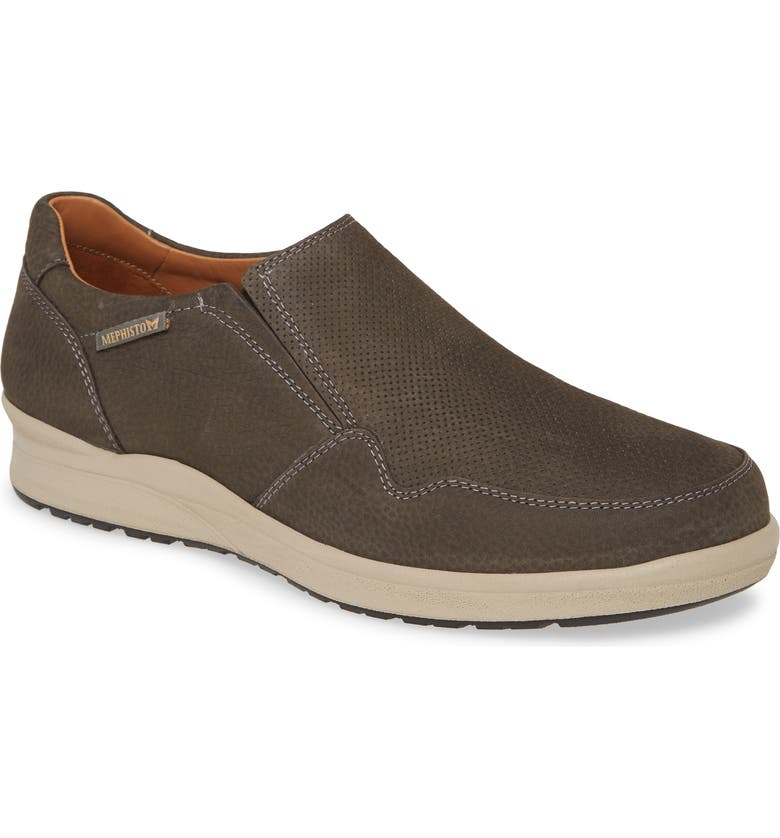 MEPHISTO Valter Slip-On, Main, color, GRAPHITE SPORTBUCK