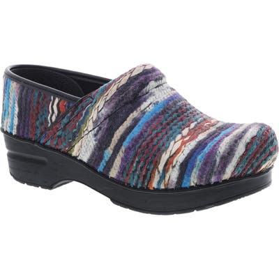 Dansko Coated Yarn Professional Clog - Blue