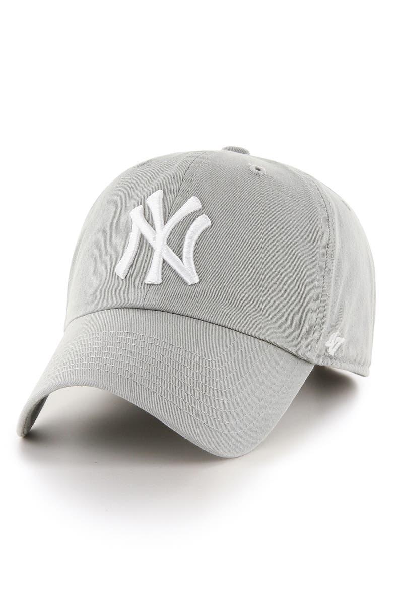 '47 Clean Up NY Yankees Baseball Cap, Main, color, 020