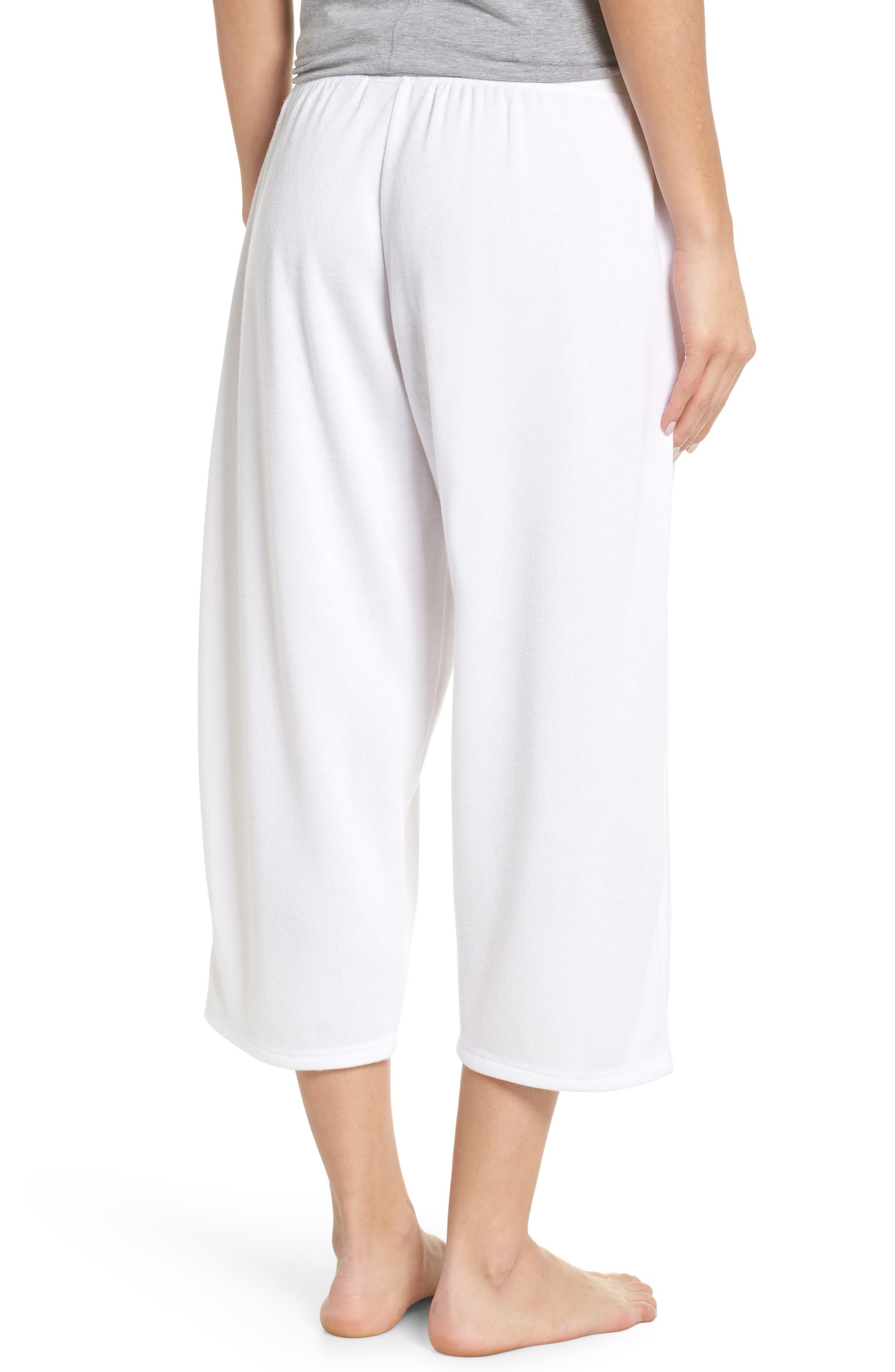 ,                             Cropped Fleece Pants,                             Alternate thumbnail 9, color,                             100