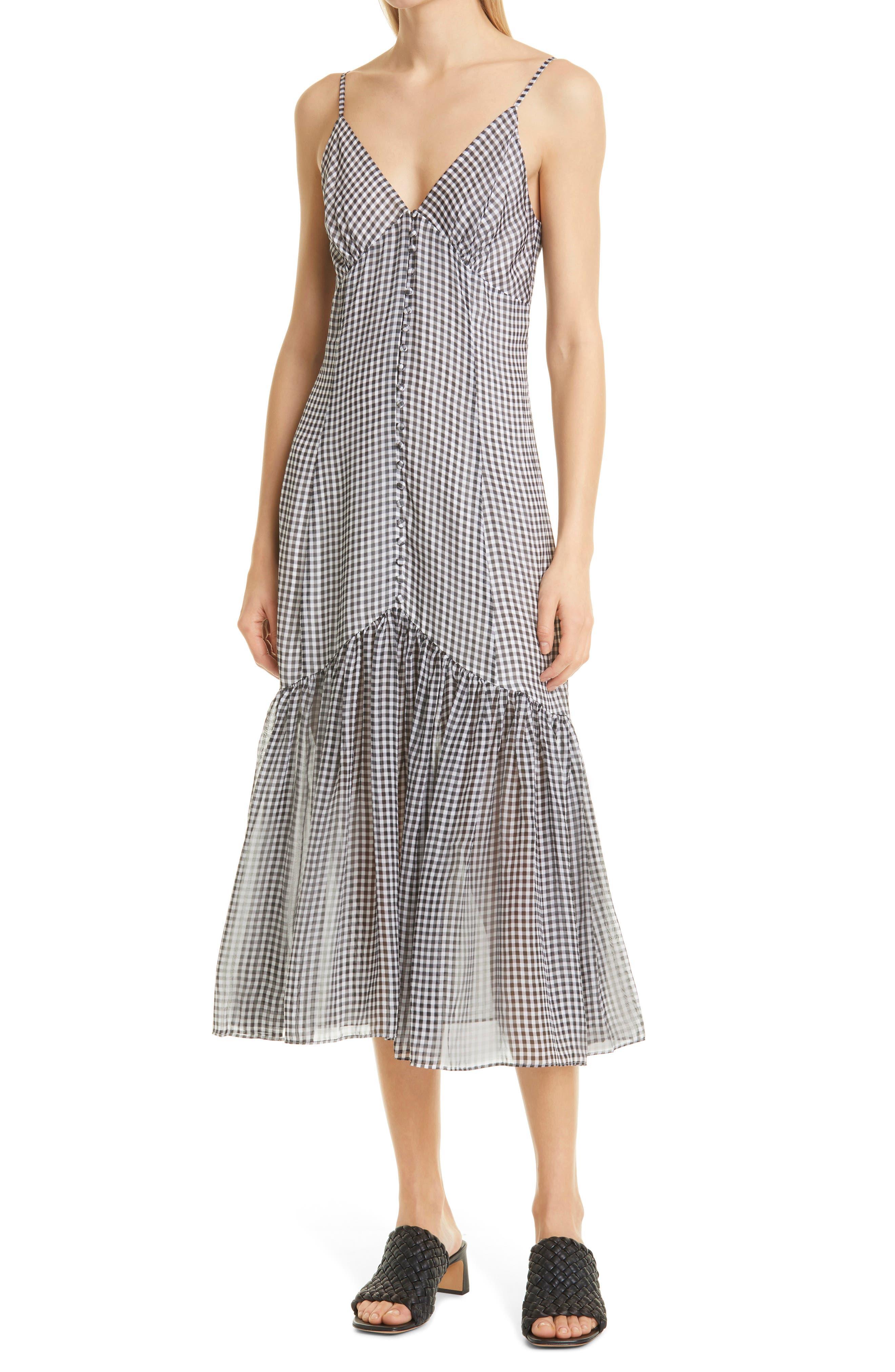 Laurel Sleeveless Silk Midi Dress