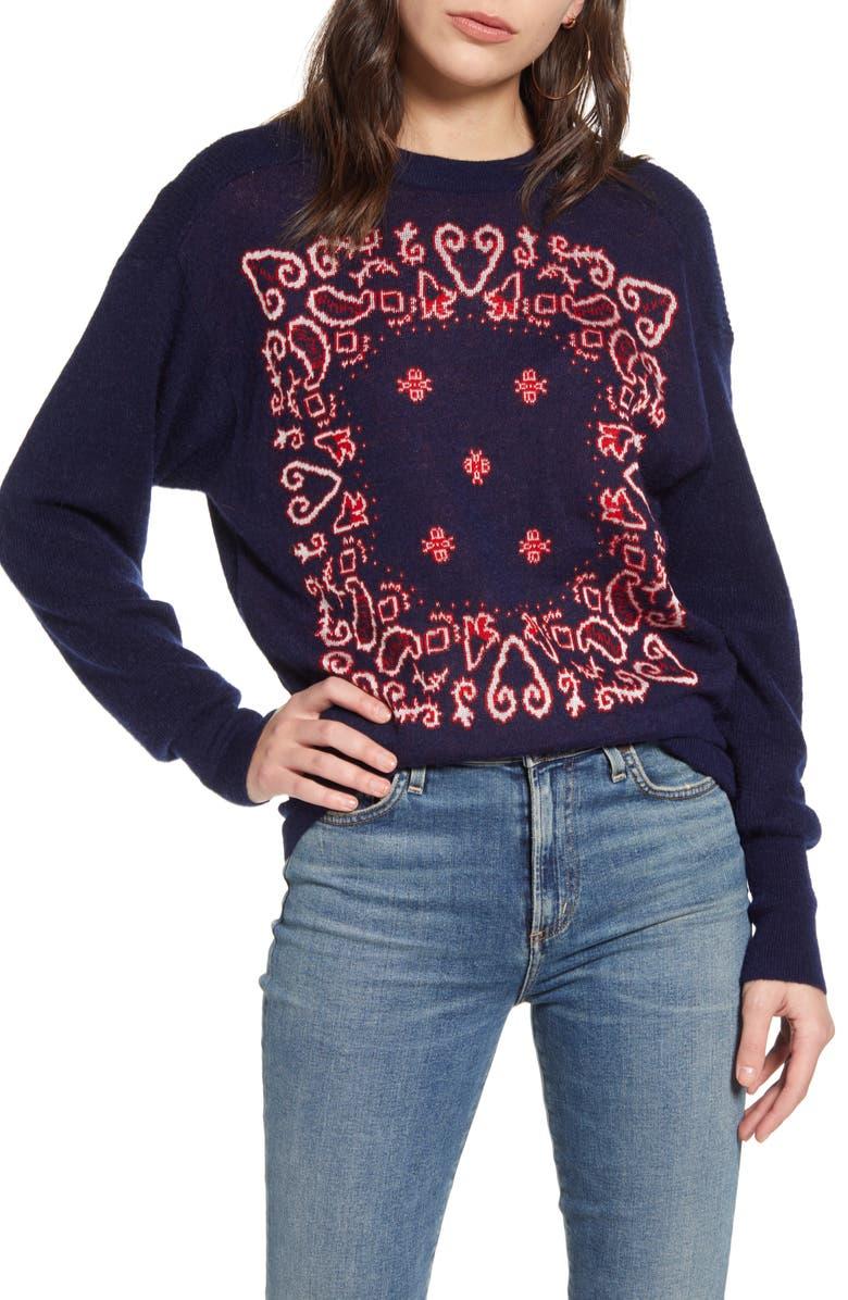 SCOTCH & SODA Pattern Pullover, Main, color, COMBO A