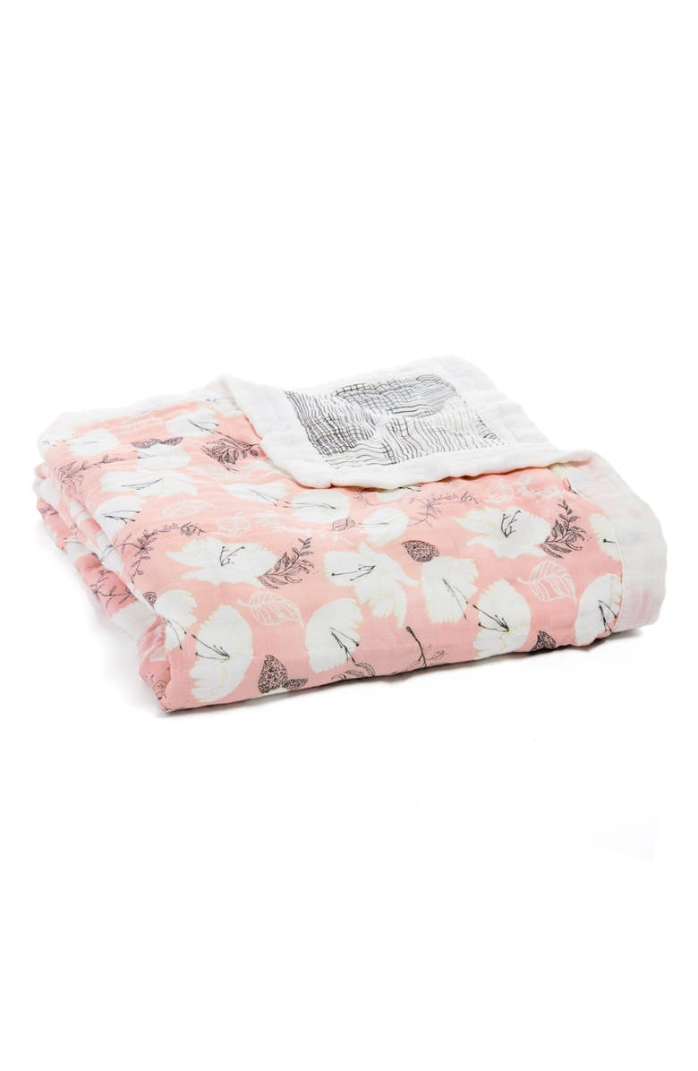 ADEN + ANAIS 'Silky Soft Dream' Blanket, Main, color, PRETTY PETALS