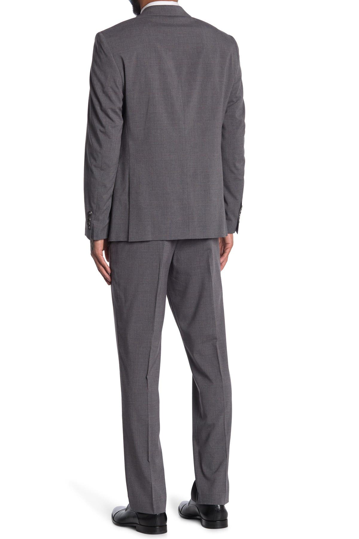 Image of Perry Ellis Slim-Fit Comfort Stretch Two-Piece Suit
