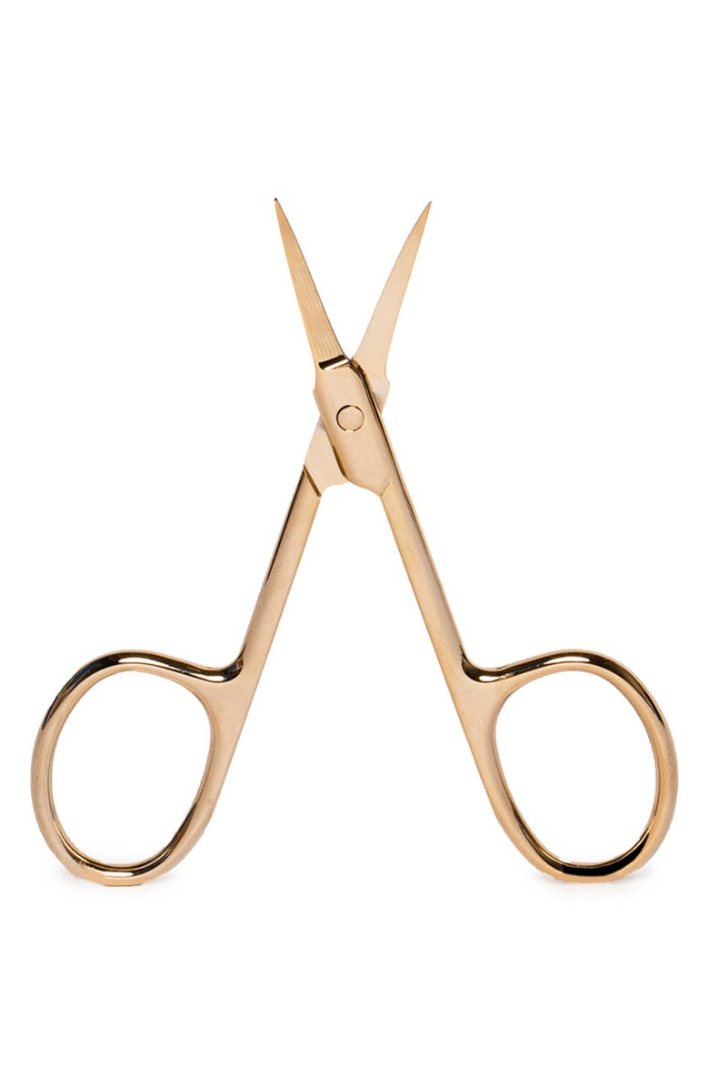 LILLY LASHES Fabu-lash Scissors, Main, color, GLAM GOLD