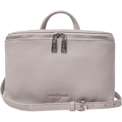 Urban Originals Shadow Vegan Leather Crossbody Satchel - Grey