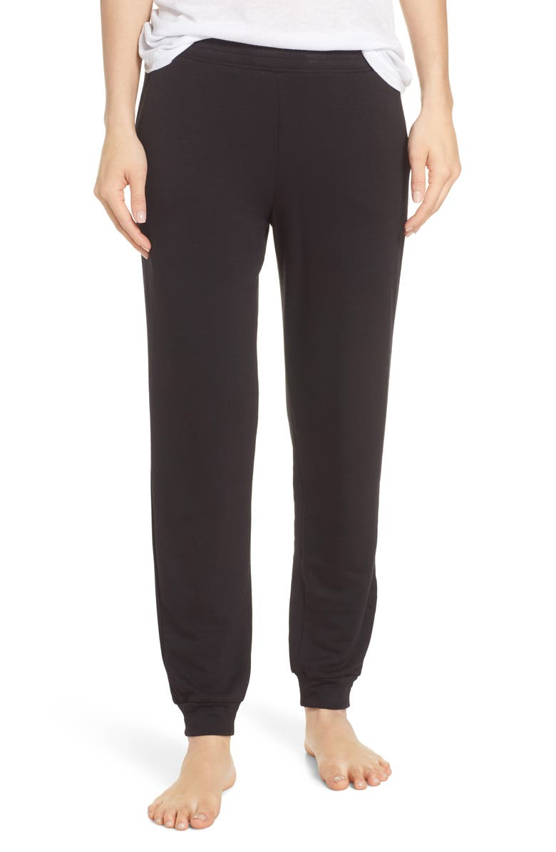 SOCIALITE Jogger Pants, Main, color, BLACK