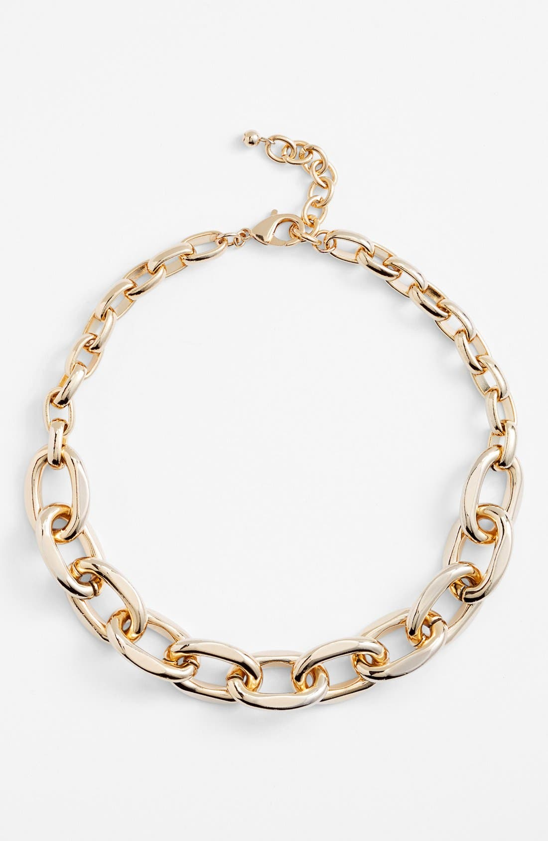 ,                             Chunky Link Collar Necklace,                             Alternate thumbnail 6, color,                             710