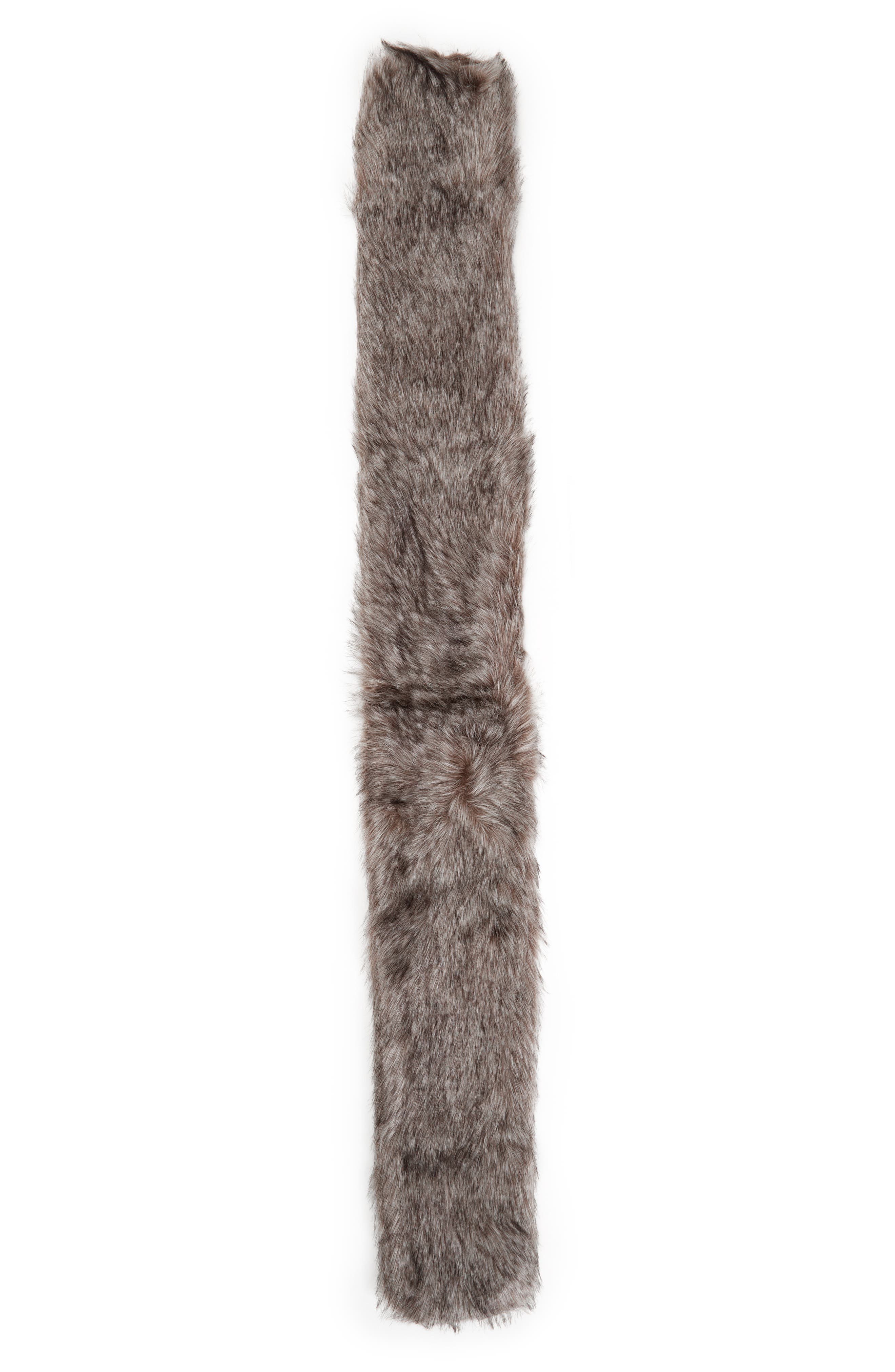 ,                             Faux Fox Fur Stole,                             Alternate thumbnail 7, color,                             020