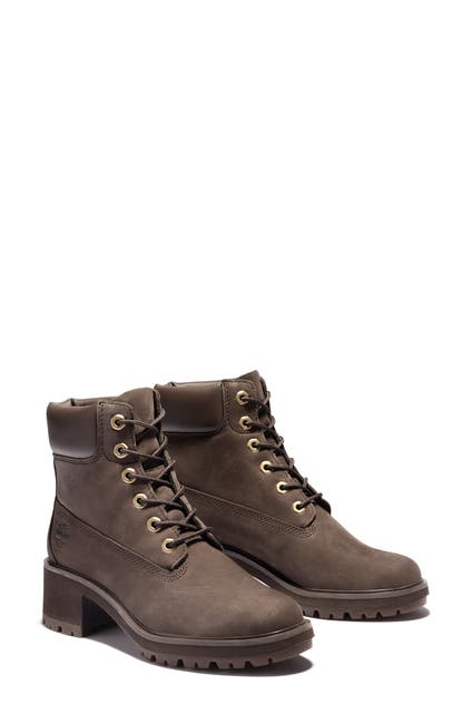 Image of Timberland Kinsley Waterproof Leather Lace-Up Boot