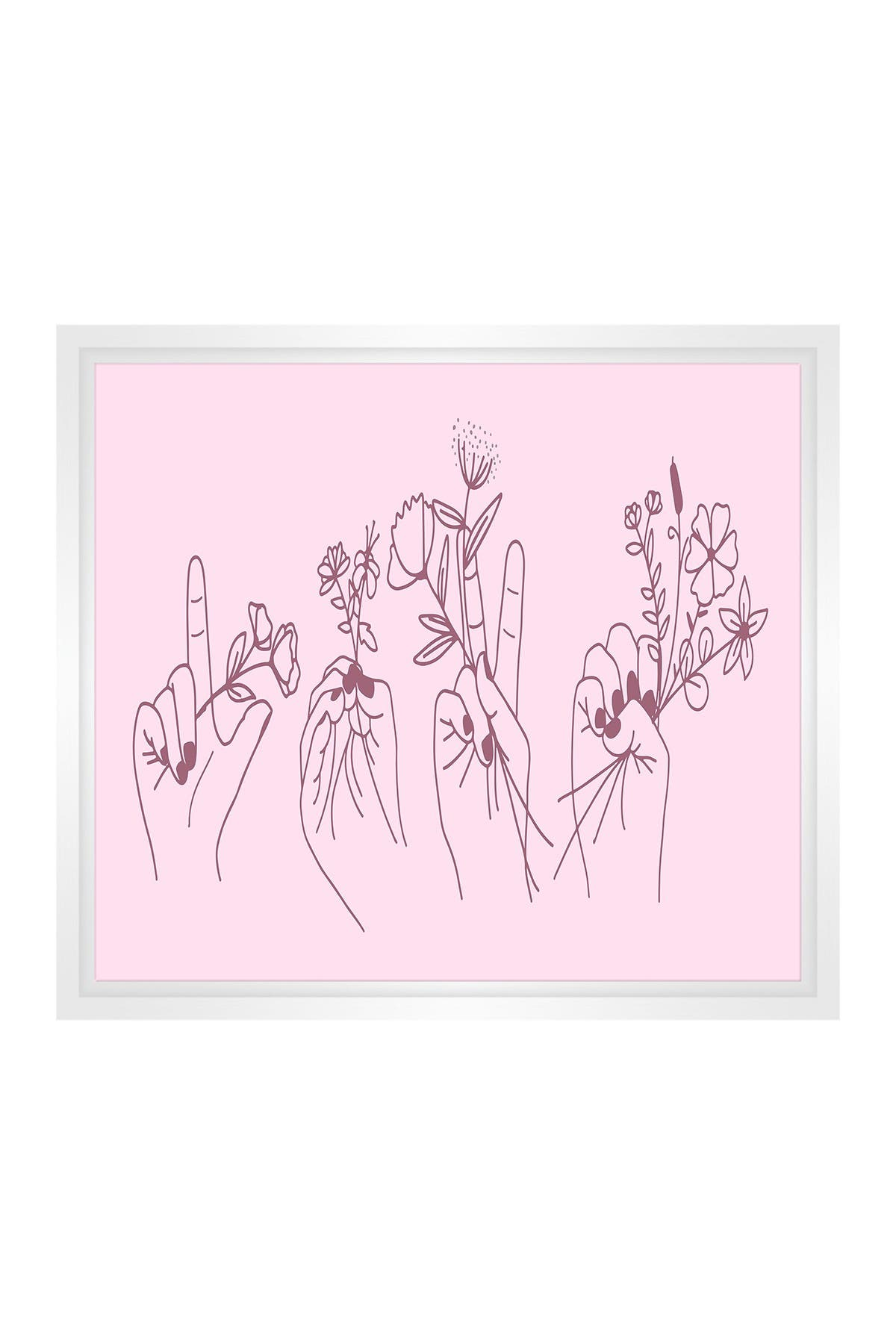Image of PTM Images Small Line Drawing #17 Rectangle Canvas