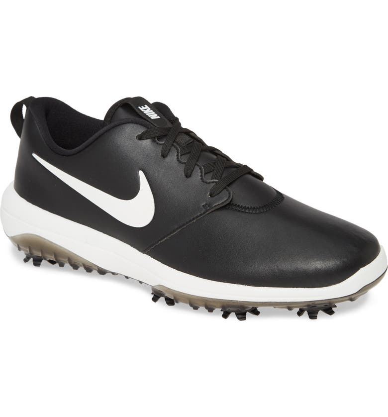 NIKE Roshe G Tour Golf Shoe, Main, color, BLACK/ SUMMIT WHITE