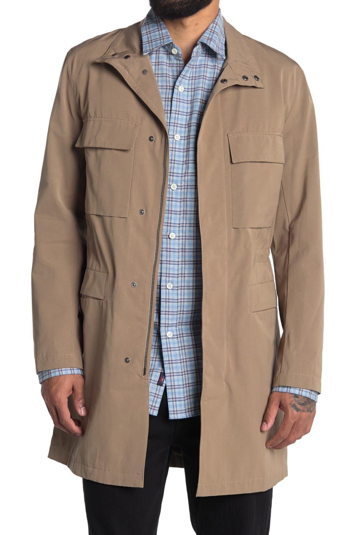 Image of Theory Johnston Technical Field Jacket