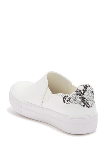 Image of 14th & Union Selma Snakeskin Embossed Slip-On Sneaker