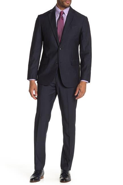 Image of Nordstrom Rack Two Button Notch Lapel Trim Fit Suit