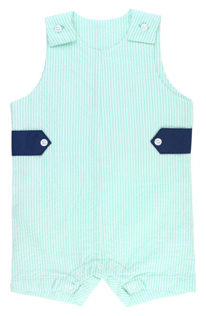 RUGGEDBUTTS Seersucker Stripe Overalls, Main, color, 300
