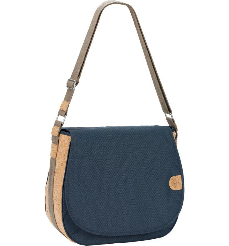 LÄSSIG Green Label Saddle Diaper Bag, Main, color, BLUE MELANGE