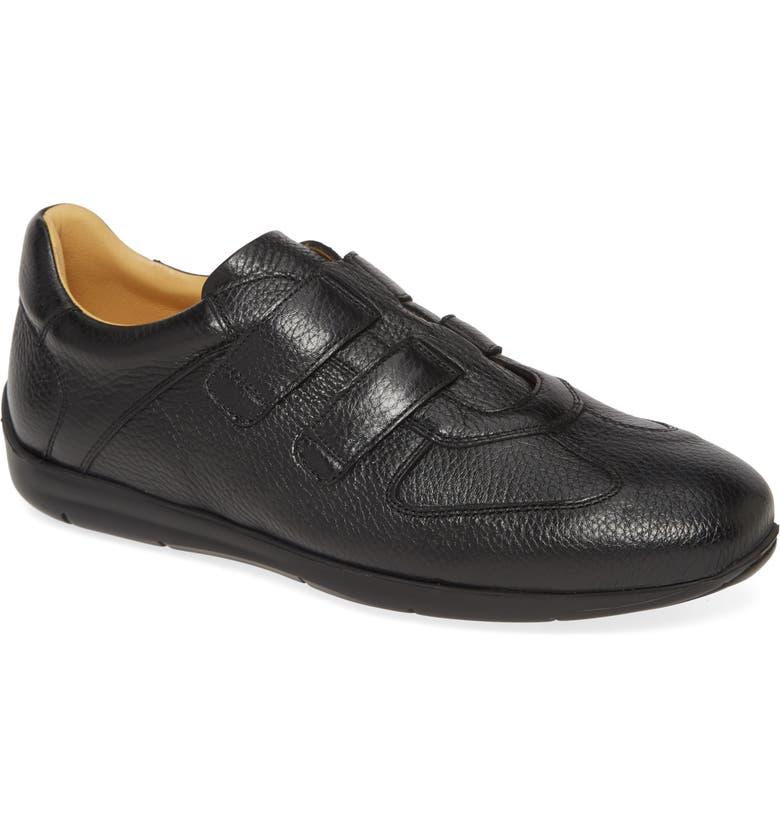 MEZLAN Ojai Slip-On Sneaker, Main, color, BLACK