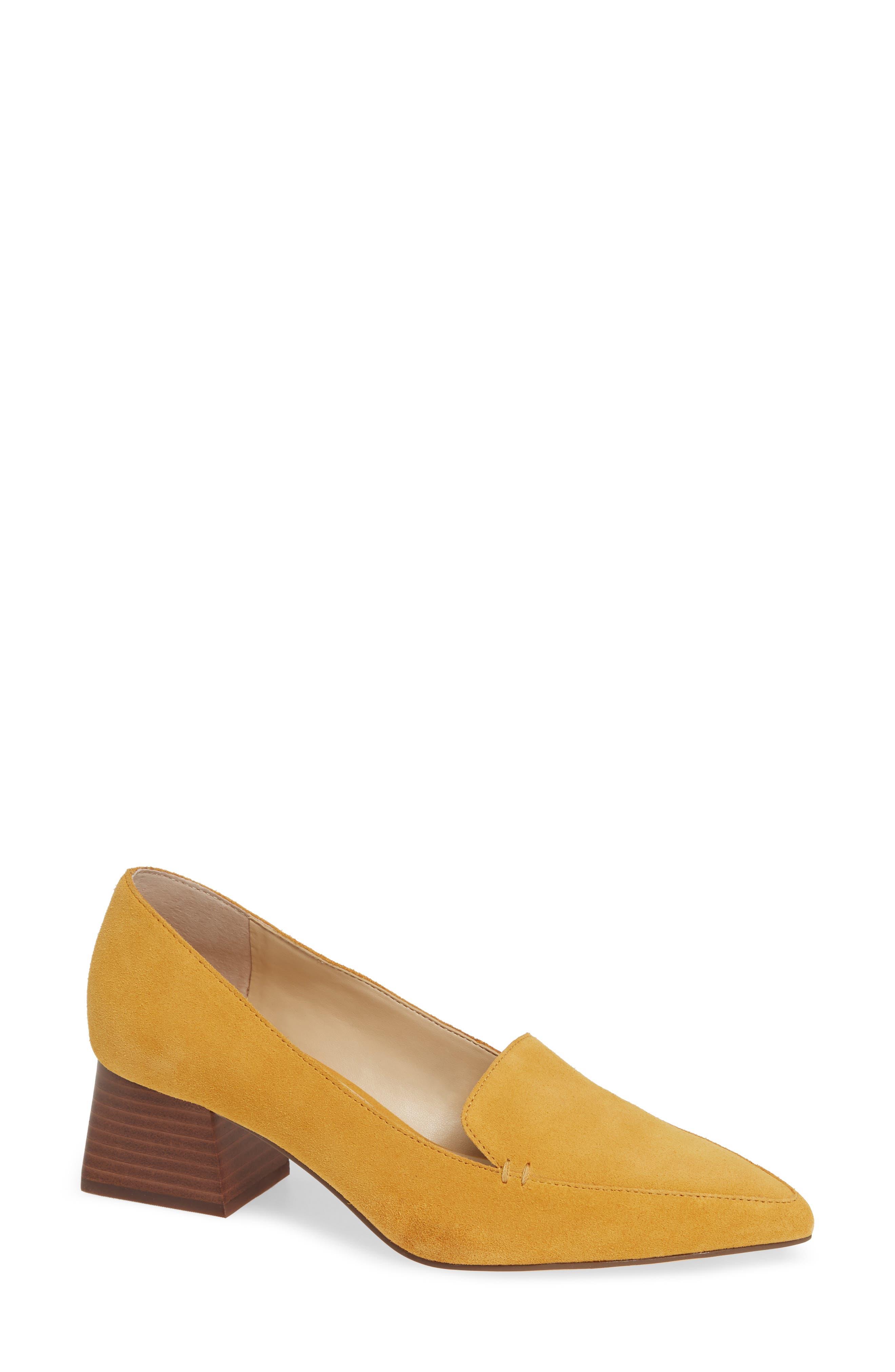 Sole Society Mavis Flare Heel Loafer