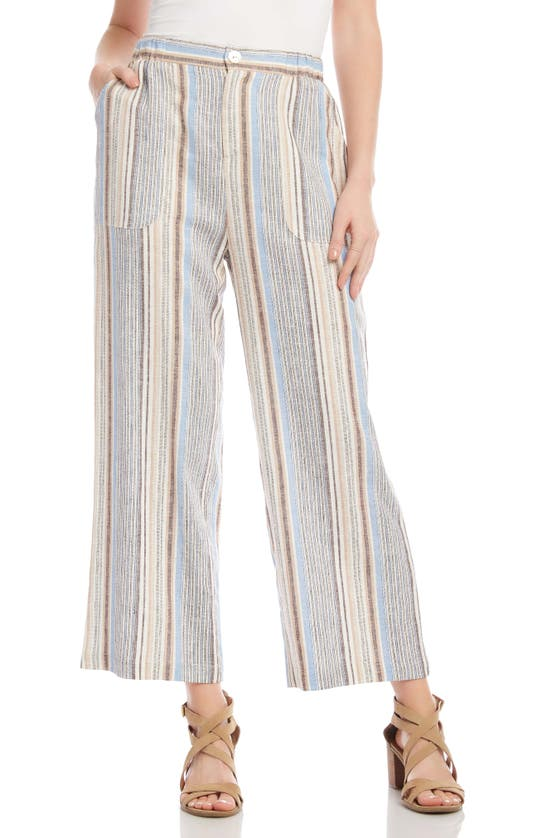 Karen Kane CROP WIDE LEG PANTS