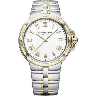 Raymond Weil Parsifal Bracelet Watch, 40Mm