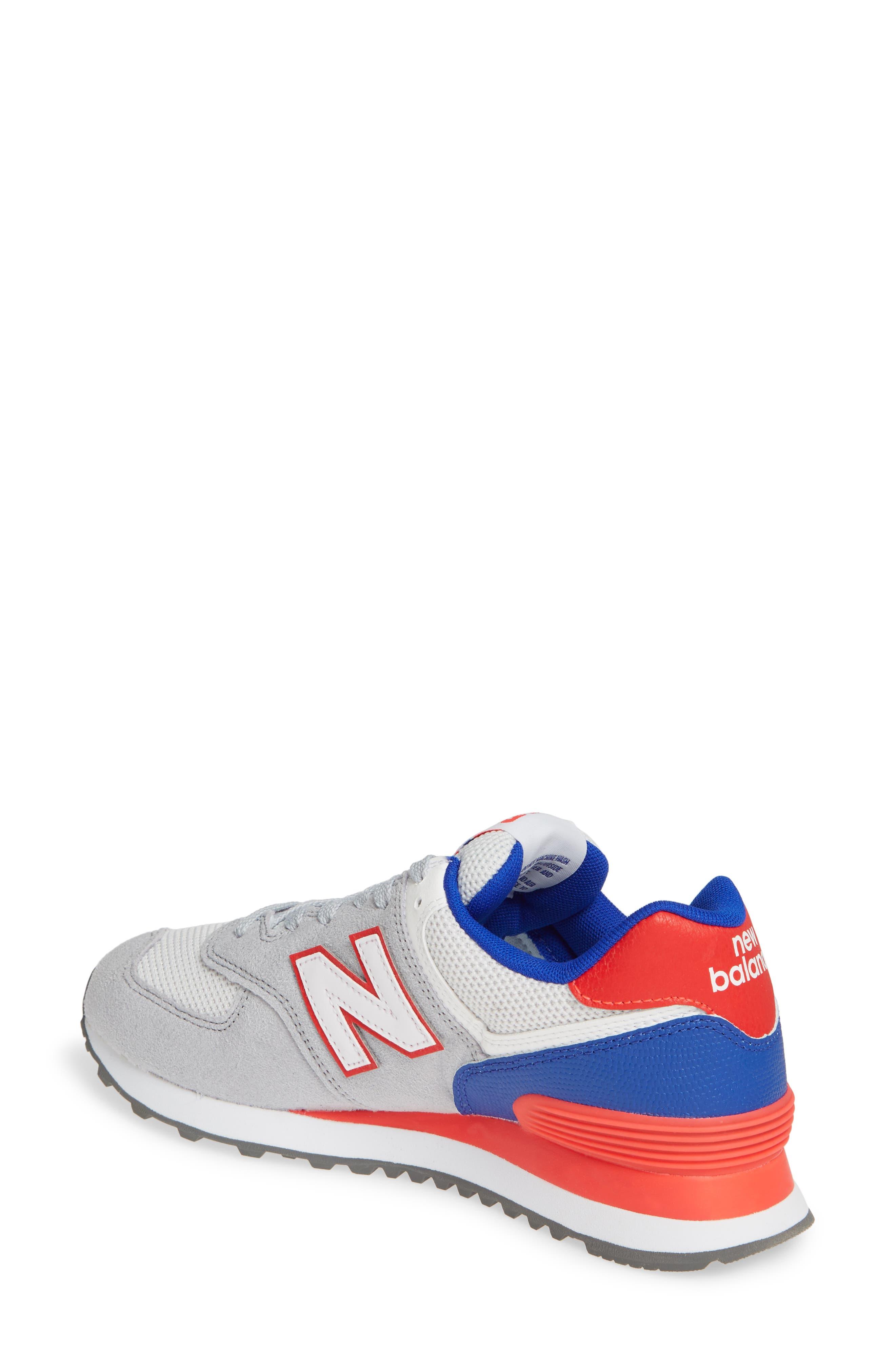 ,                             '574' Sneaker,                             Alternate thumbnail 2, color,                             RAIN CLOUD