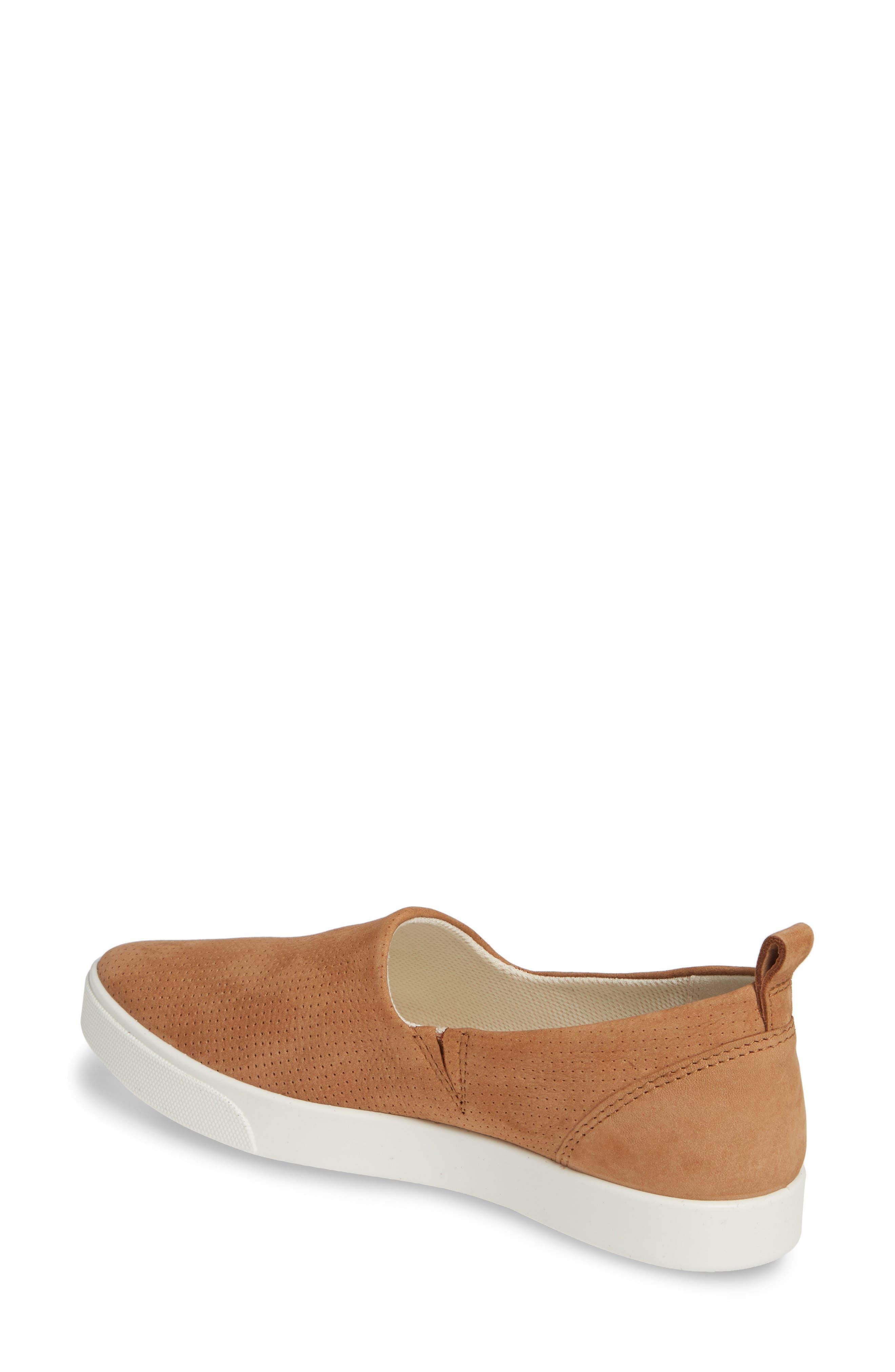 ,                             Gillian Slip-On Sneaker,                             Alternate thumbnail 2, color,                             CASHMERE LEATHER
