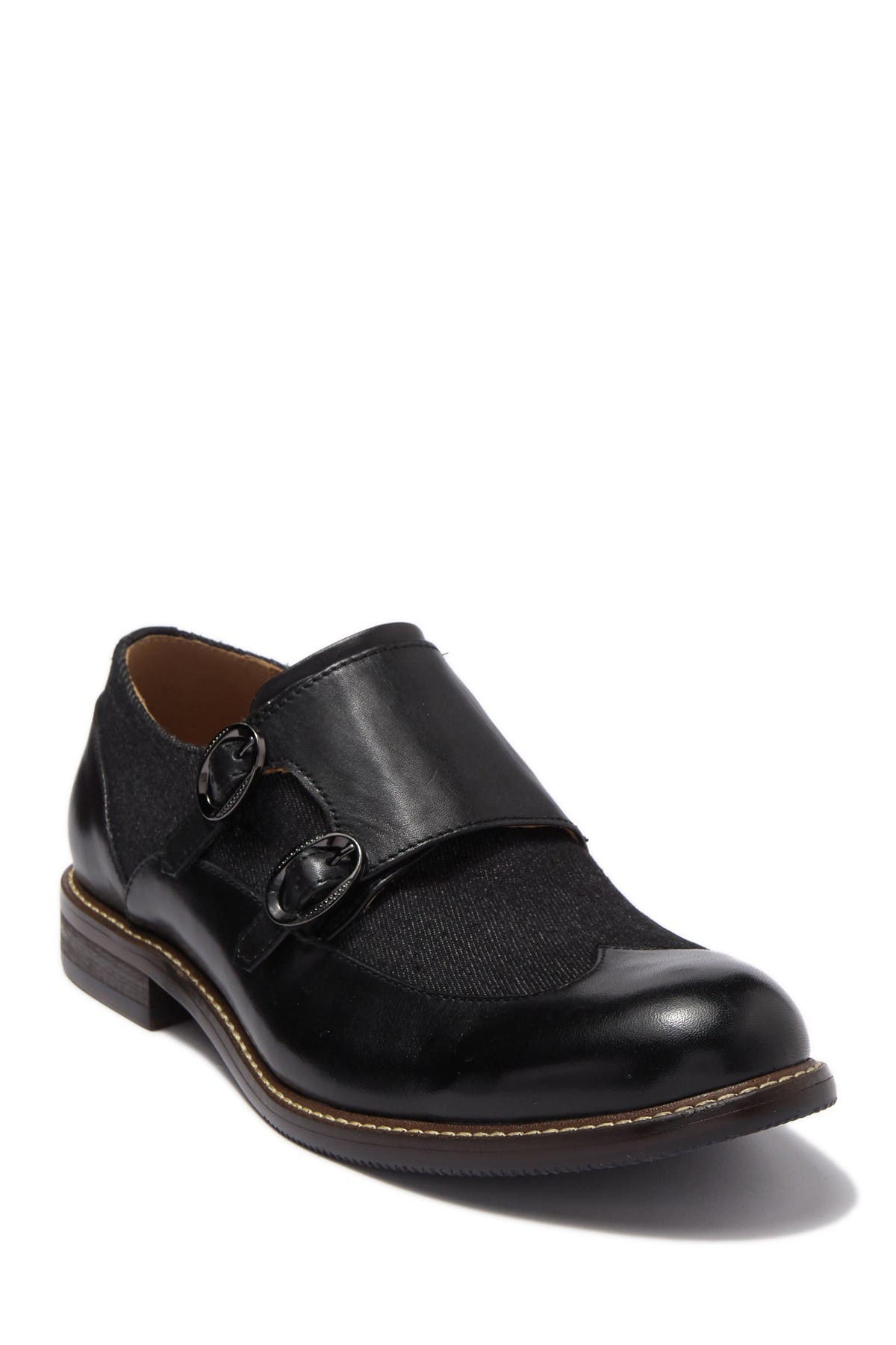 Image of Vintage Foundry Luther Wingtip Monk Strap Shoe