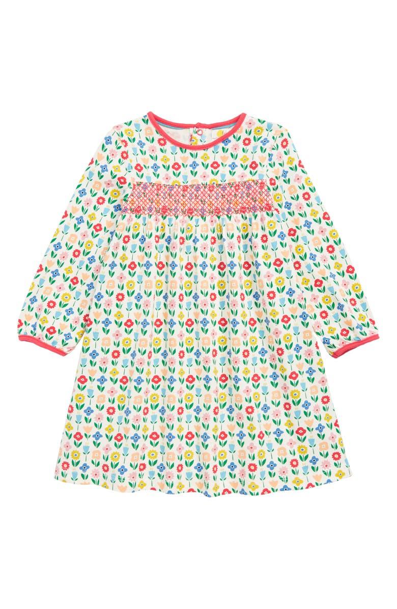 57464a8df2b Mini Boden Pretty Smocked Jersey Dress (Toddler Girls) | Nordstrom