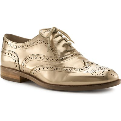 Botkier Calista Metallic Wingtip Oxford- Metallic