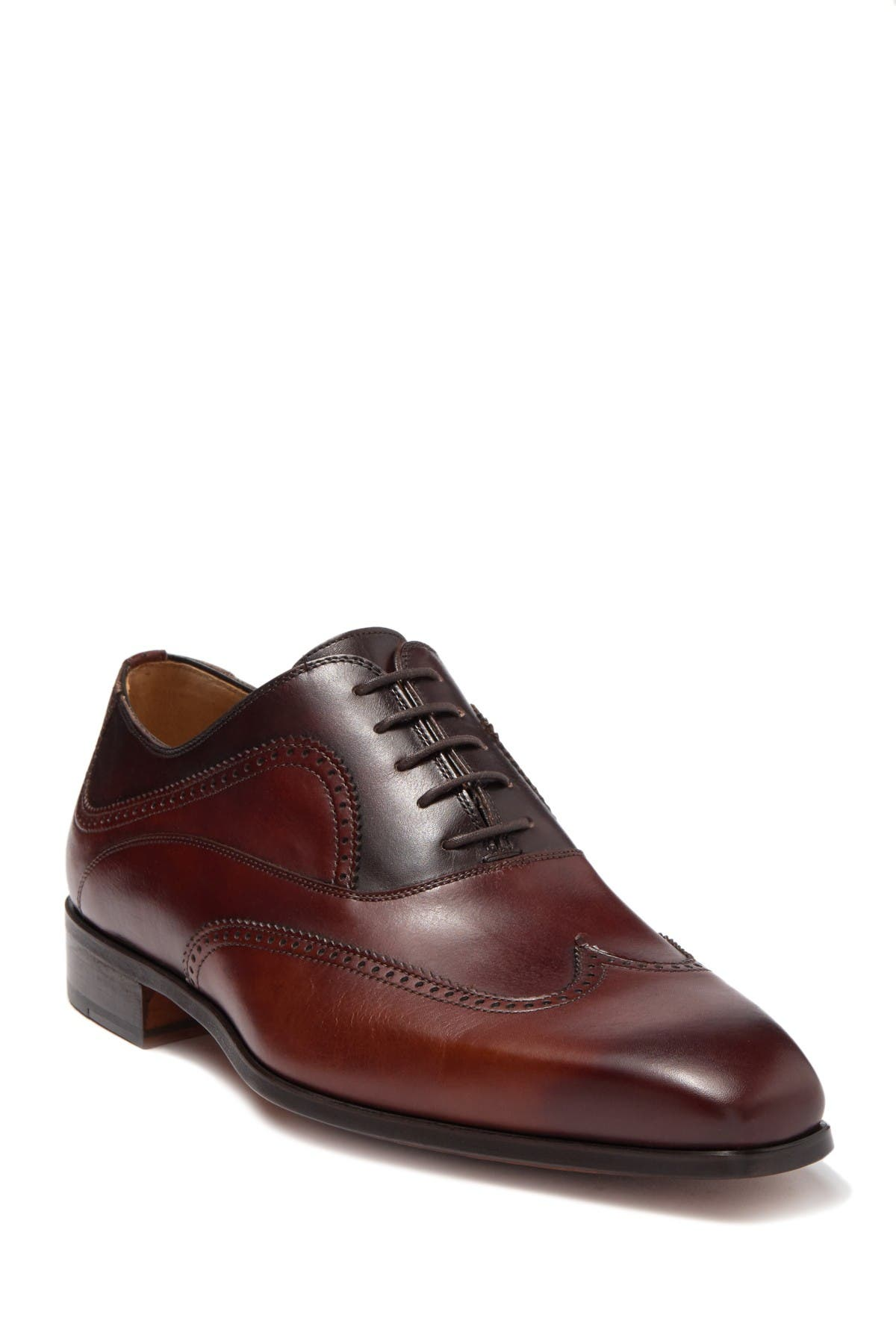 Image of Magnanni Ezell Leather Wingtip Oxford