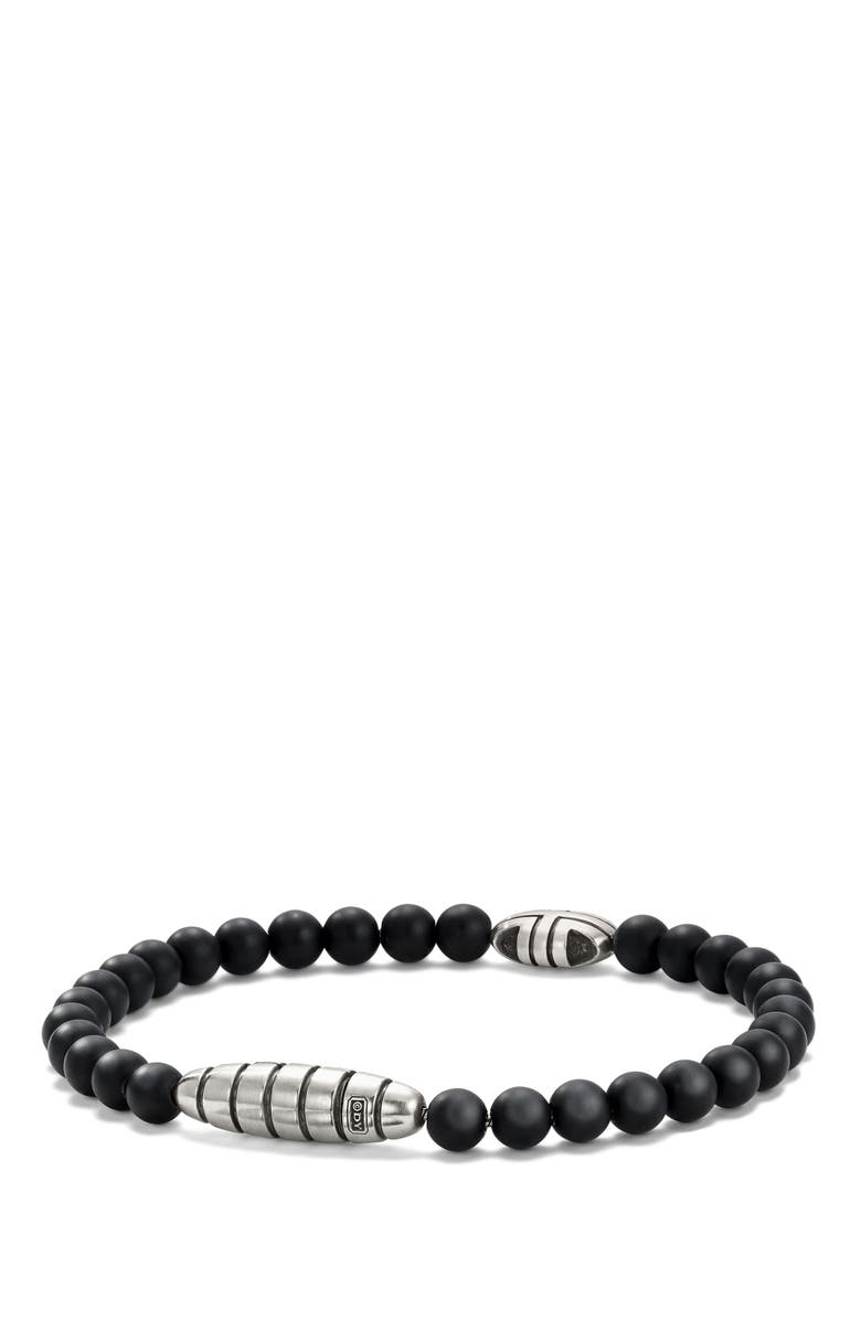 DAVID YURMAN Southwest Bead Bracelet in Black Onyx, Main, color, BLACK ONYX