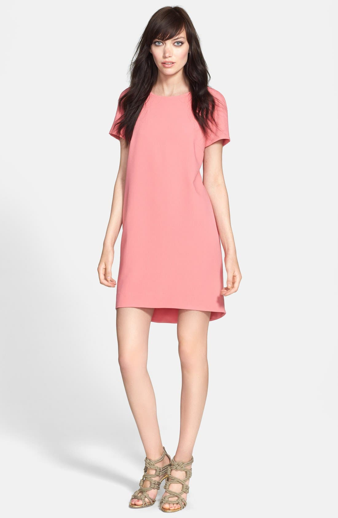 ,                             Crepe Shift Dress,                             Main thumbnail 25, color,                             950