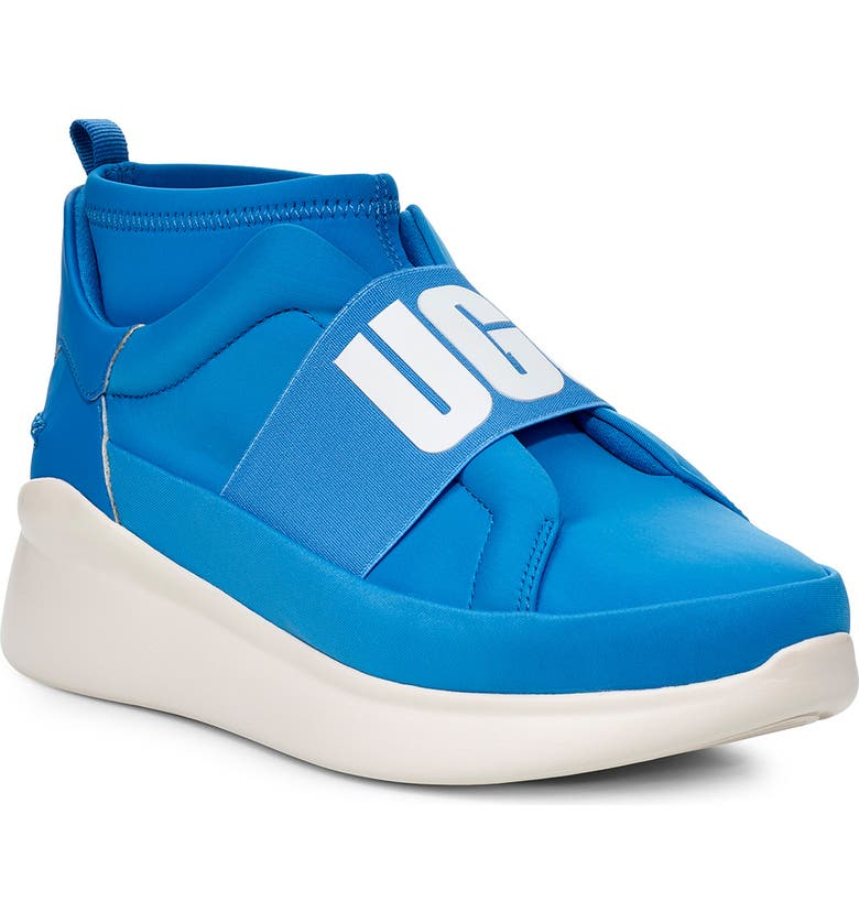 UGG<SUP>®</SUP> Neutra Sock Sneaker, Main, color, NEON BLUE