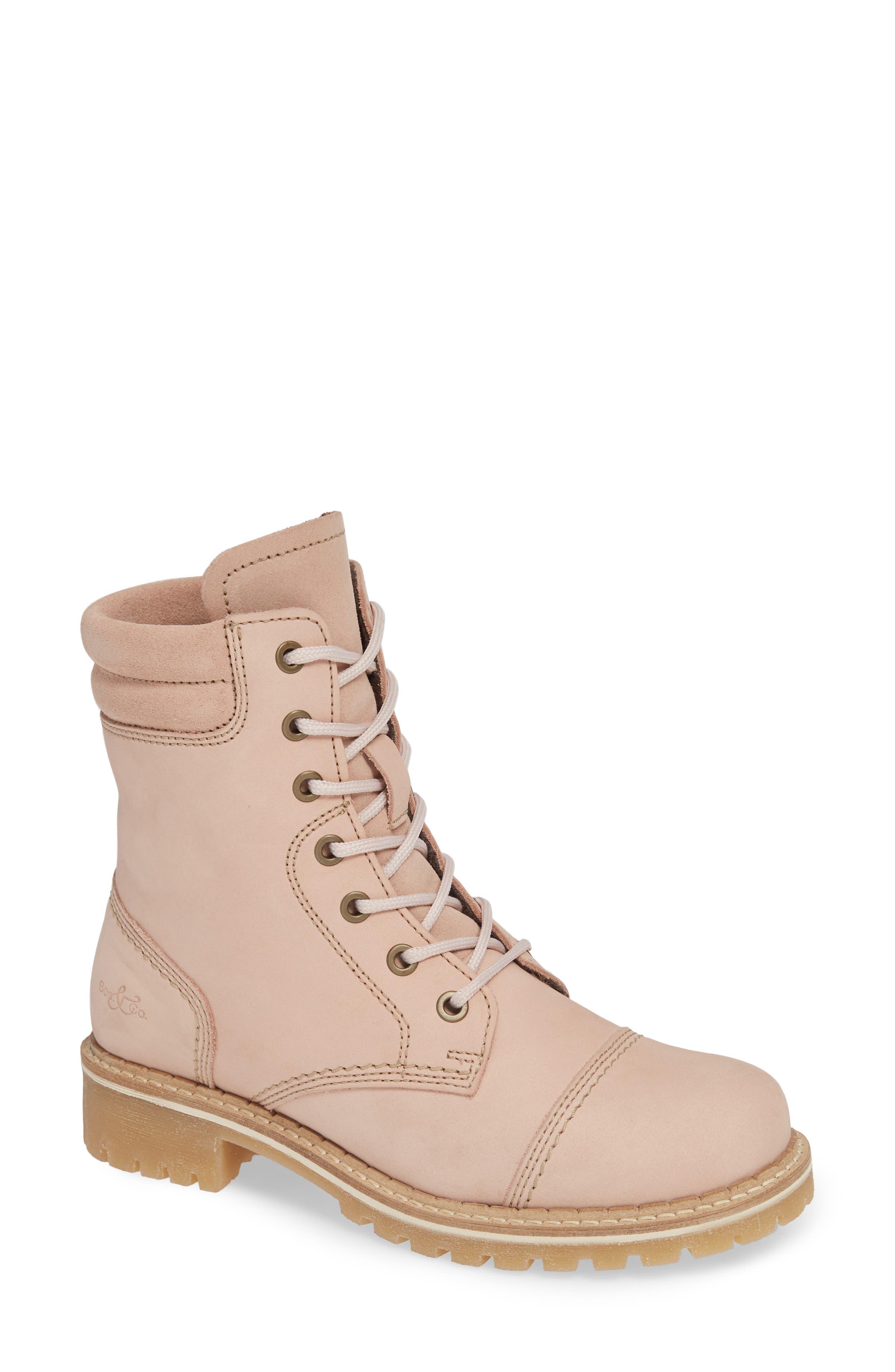Bos. & Co. Hero Waterproof Hiker Boot, Pink