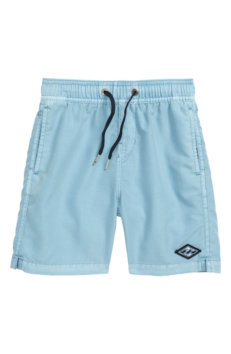 BILLABONG All Day Layback Board Shorts, Main, color, COASTAL