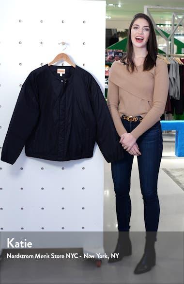 Recycled Nylon Flight Jacket, sales video thumbnail