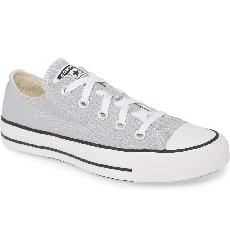 CONVERSE Chuck Taylor<sup>®</sup> All Star<sup>®</sup> 'Seasonal Ox' Low Top Sneaker, Main, color, WOLF GREY
