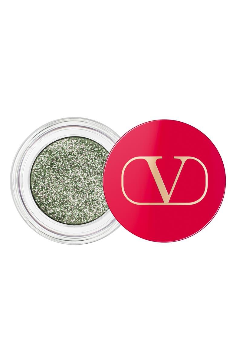 VALENTINO Dreamdust Glitter Eyeshadow, Main, color, 03 EMERALD QUEEN