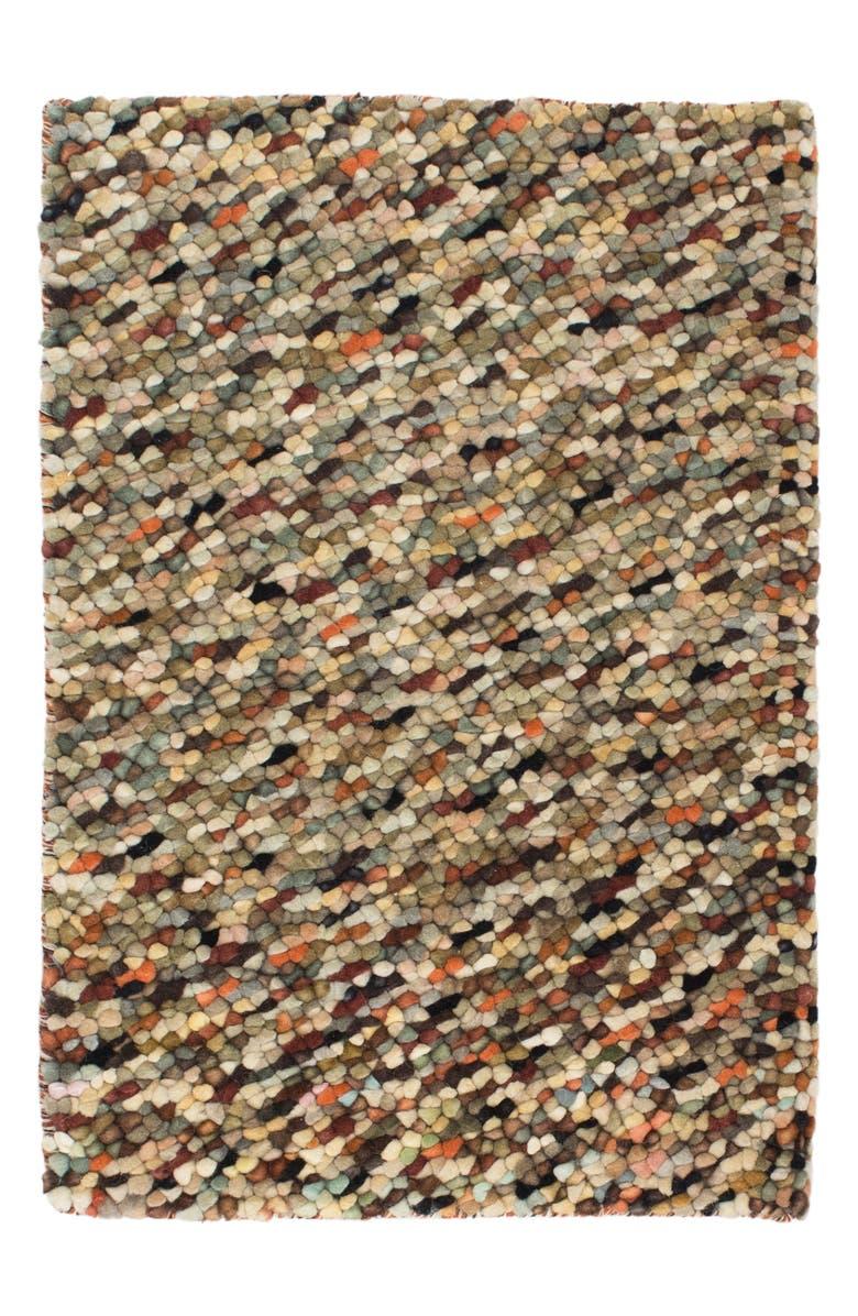 DASH & ALBERT Seurat Wool Rug, Main, color, 250