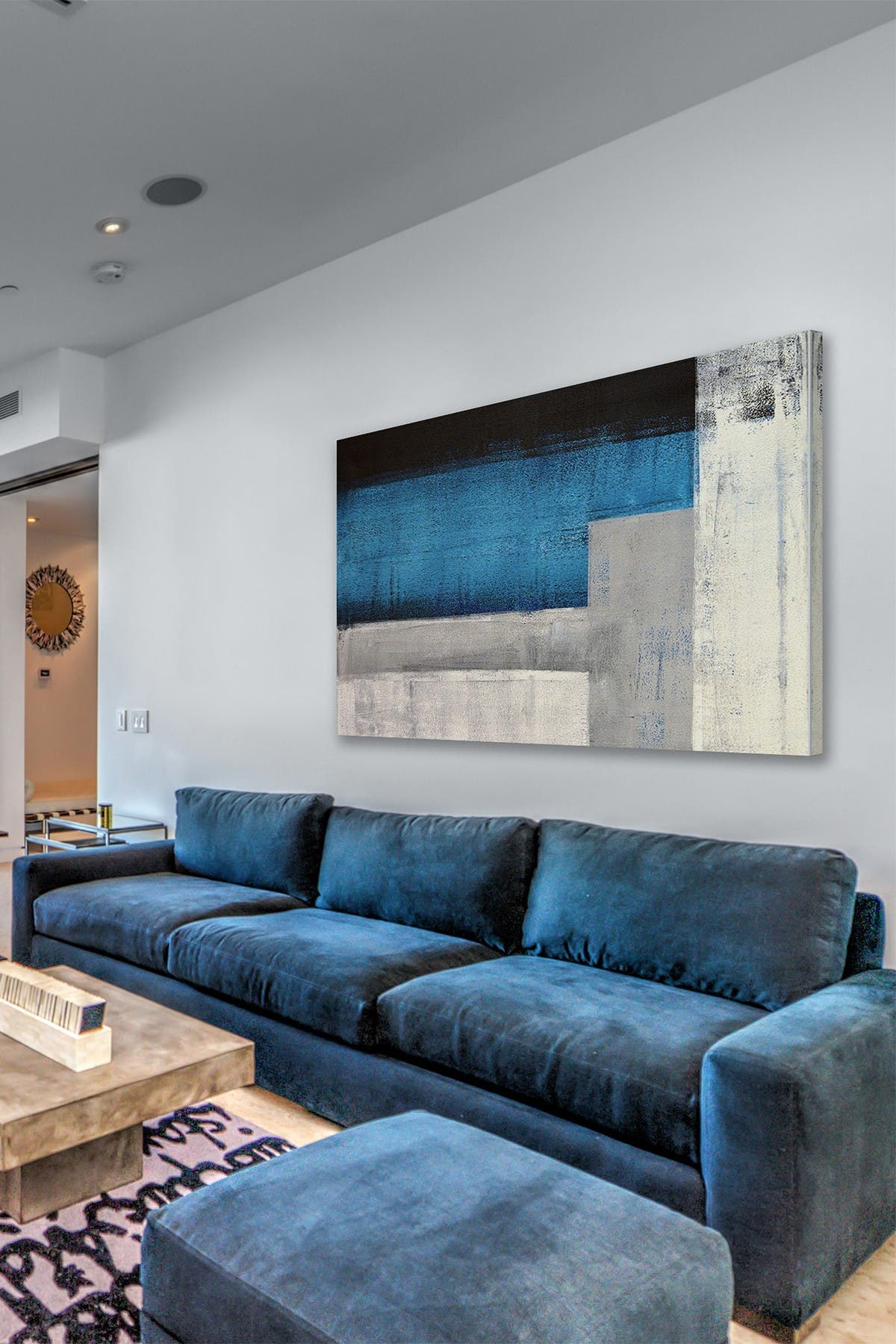 """Image of Marmont Hill Inc. Formation and Purity Painting Print on Wrapped Canvas - 36""""x24"""""""
