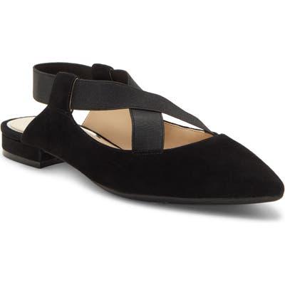 Jessica Simpson Lurina Pointy Toe Flat, Black