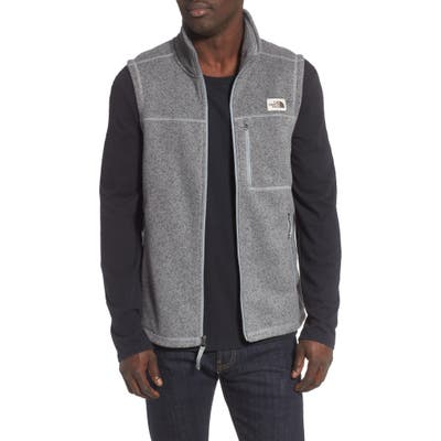 The North Face Gordon Lyons Sweater Fleece Vest, Grey
