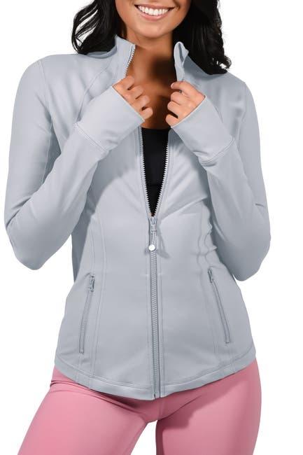 Image of 90 Degree By Reflex Full Zip Long Sleeve Jacket