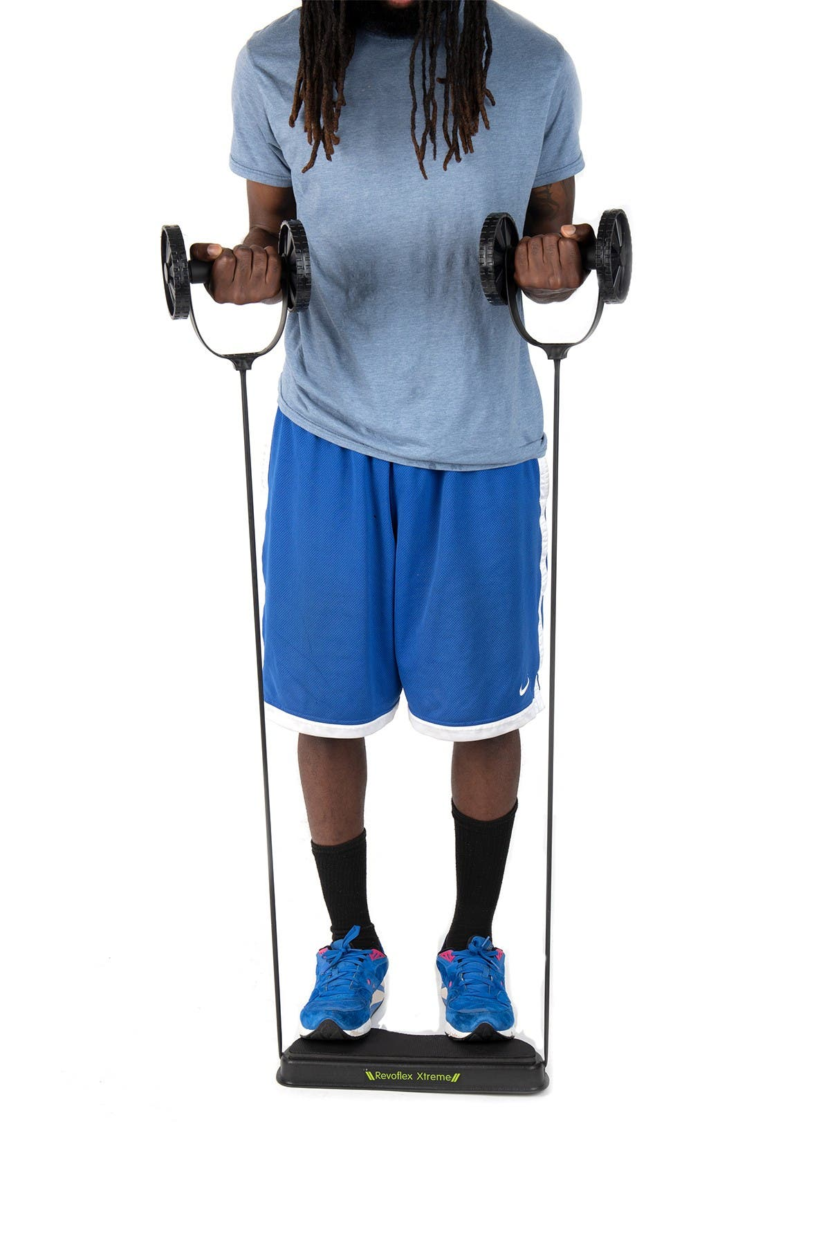 Image of MIND READER Ab Core Muscle Roller Wheel