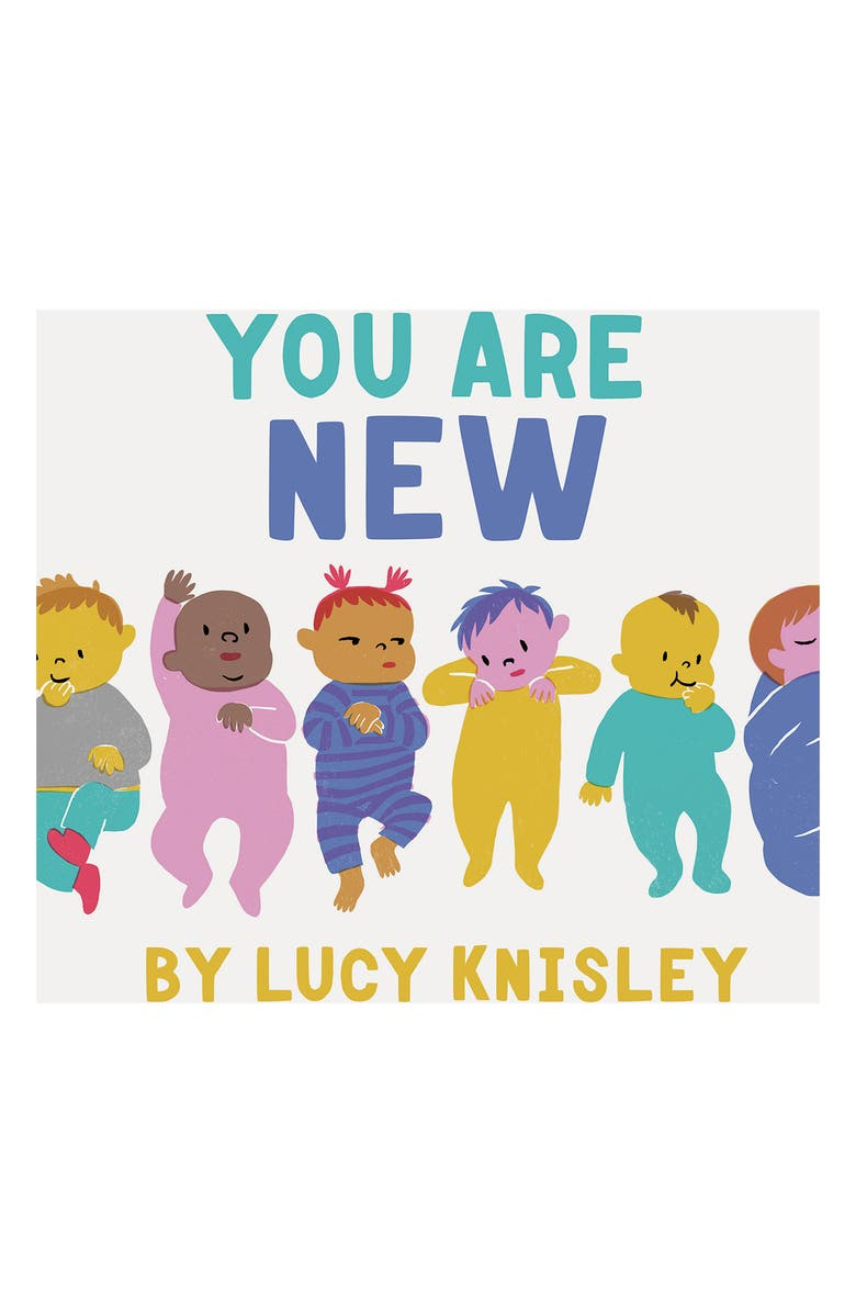 CHRONICLE BOOKS 'You Are New' Book, Main, color, MULTI