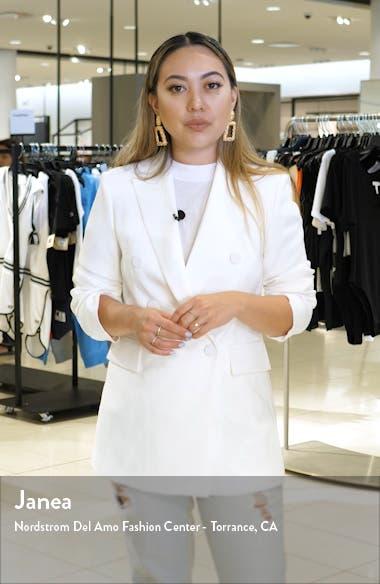 Mix Pattern Long Sleeve Cotton Dress, sales video thumbnail